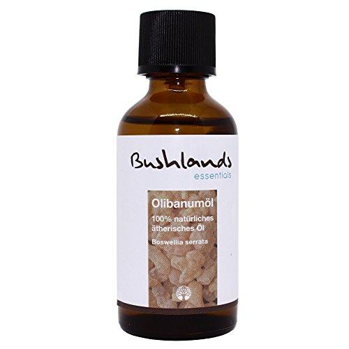 Bushlands essentials naturreines ätherisches Olibanum Öl Weihrauch Öl (Boswellia serrata) 50 ml -