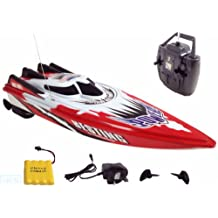 Radio Control Rechargeable TWIN ENGINE SPEED BOAT Batteries Included