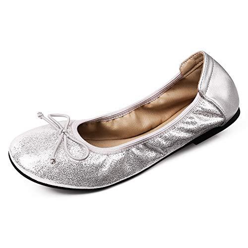 Sydowey - Zapatos de Ballet para Mujer con Bolsa de Transporte