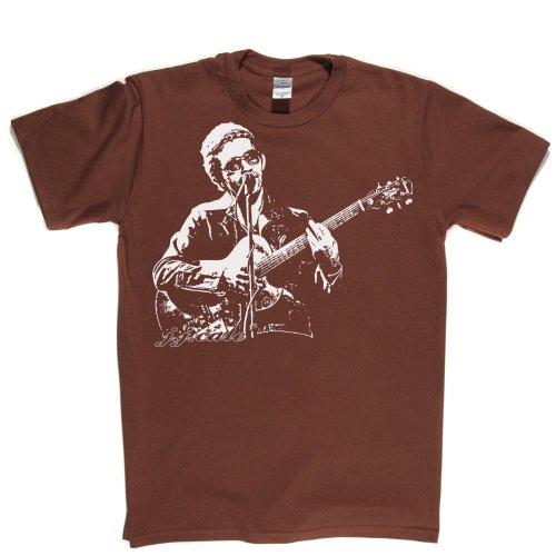 JJ Cale J.J American Singer Tulsa Sound Blues Country Jazz Tee T-shirt Braun