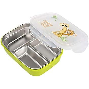 Brotdose für Erwachsene, Kinder aus Edelstahl, Bento-Box