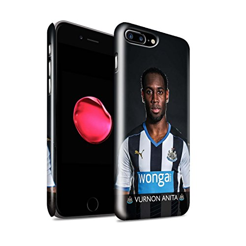 Offiziell Newcastle United FC Hülle / Glanz Snap-On Case für Apple iPhone 7 Plus / Sissoko Muster / NUFC Fussballspieler 15/16 Kollektion Anita