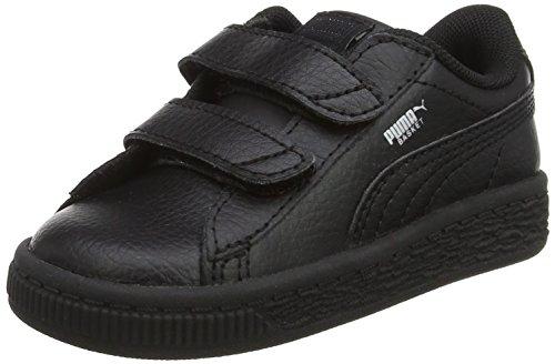 Puma Unisex Baby Basket Classic LFS V INF Sneaker, Schwarz Black 2, 22 EU - Basketball-schuhe Puma Kinder