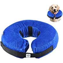 Collar Inflable de Perros Gato, KOBWA Collar de Mascota para Perros Medianos para Prevenir Rasgu
