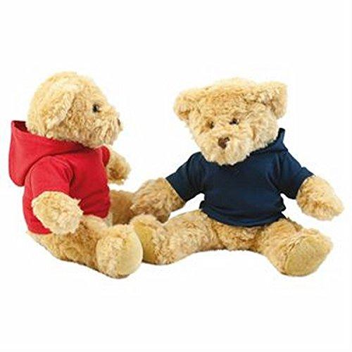 Teddy hoodie bianco