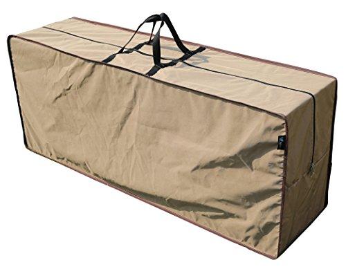 Schützende Kissen Tragetasche   200,7x 76,2x 61cm (L x W x H)   wasserabweisend   sorara   Polyester & PU-Beschichtung (UV 50+)   Robust und langlebig   Premium   für Terrasse im Garten Möbel... -