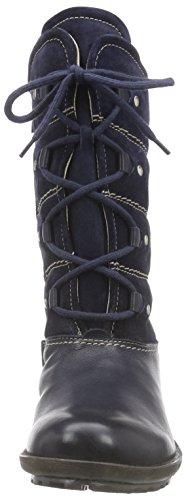 Josef Seibel New Palmira Damen Kurzschaft Stiefel Blau (590 Ocean)
