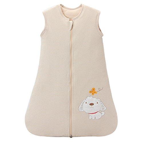 schlafsack baby winter hund mädchen junge Baumwolle kinder schlafanzug. -2.5 TOG (M:80 cm (6-12 Monate)
