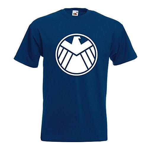 KIWISTAR - Agents of S.H.I.E.L.D. T-Shirt in 15 verschiedenen Farben - Herren Funshirt bedruckt Design Sprüche Spruch Motive Oberteil Baumwolle Print Größe S M L XL XXL Navy
