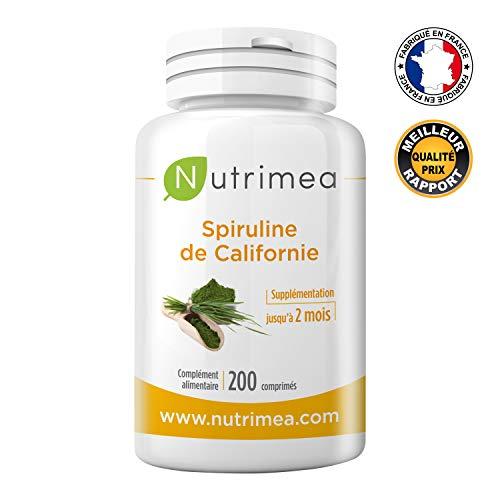 Spiruline très pure certifiée FDA Agriculture...