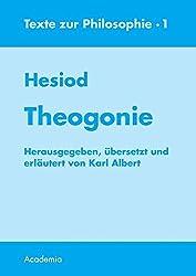 Theogonie. 7. Aufl (Texte zur Philosophie)