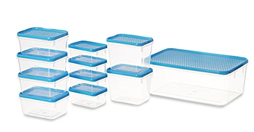 All Time Plastics Polka Container Set, 11-Pieces