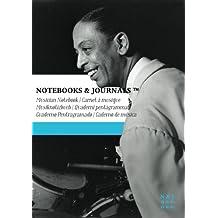 Carnet de Musique Notebooks & Journals, Greer (Jazz Notes Collection) Extra Large: Couverture souple (17.78 x 25.4 cm)(Carnet à musique, Cahier de musique)