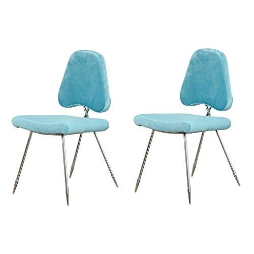 XUEPINGbtd Barhocker/Stuhl Bürostuhl Edelstahl Barhocker/Stuhl Vier-Fuß-Küche Restaurant Hochlehner Vier Jahreszeiten Einzel- / Doppel-Counter Chair (Color : B ×2) -