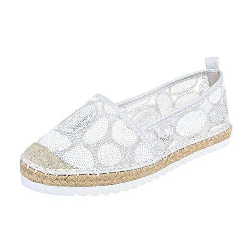 Ital-Design - Low-top Donna Silber 6502-BL