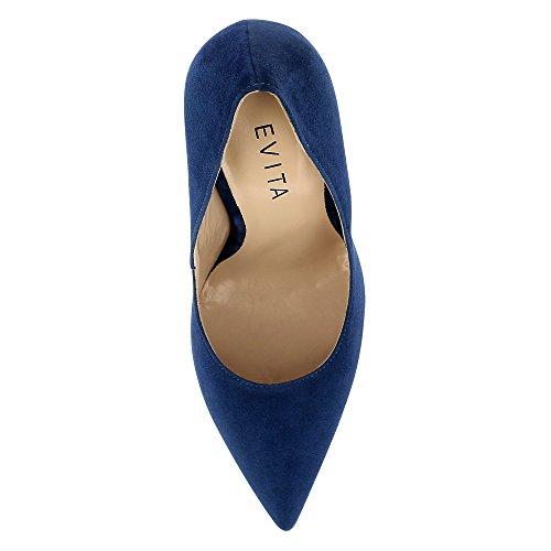Evita Shoes Lisa, Scarpe col tacco donna Blau