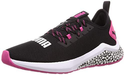 Puma Damen Hybrid Nx WNS Laufschuhe, Schwarz Black-Fuchsia Purple 4, 40 EU (Puma Damen Schuhe Slip On)