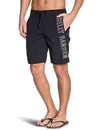 Helly Hansen HH Logo Short - Pantalón corto para hombre, color azul marino, talla 32