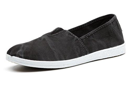 Natural World Eco – Chaussures Espadrilles VEGAN Tendance en Tissu pour femmes – Mode – NOUVEAUTÉ 601