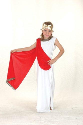Costume da dea greca/romana per bambina età 6-9