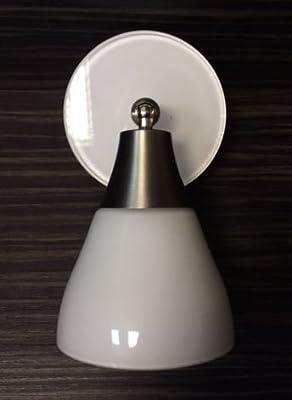 WOFI Led Strahler für Tangens Schienensystem Spot Glas 6504 Leuchte Lampe