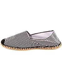Reservoir Shoes - Espadrille pas chère homme Reservoir Shoes Marinière Noir
