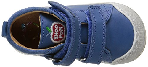 SHOO POM Kidur Bi Velcro Baby Jungen Lauflernschuhe Blau - Bleu (Cobalt)