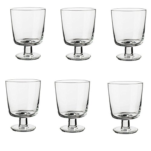 IKEA 365+ Weingläser aus Klarglas; (30cl); 6 Stück