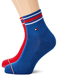 Tommy Hilfiger TH Men Iconic Sports Quarter Socks (Pack of 2) 816f100aa8b