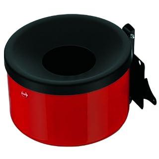 Hailo 0910-003 Wandascher ProfiLine Easy 1.2 Liter, rot