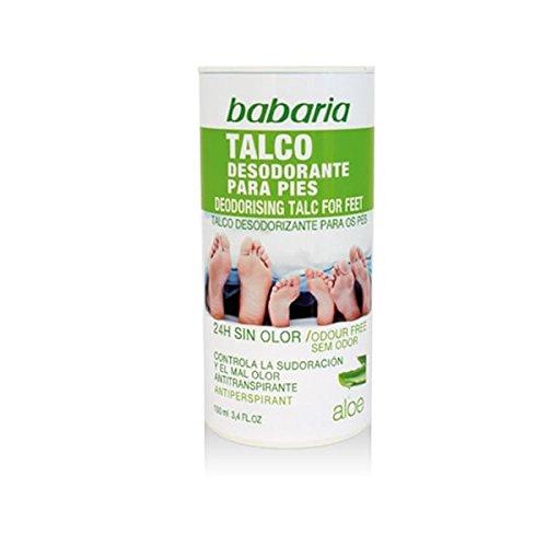 Babaria Desodorante en Talco para Pies - 100 gr