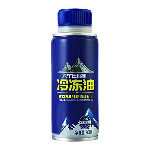 mollylover 70 ml di Olio congelato Aria condizionata automobilistica Compressore Olio per refrigerazione Olio lubrificante Refrigerante Snow O