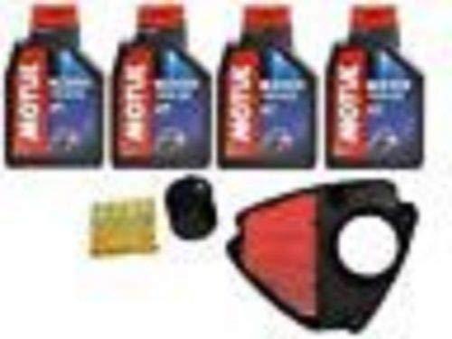 Kit révision Honda VT 600 Shadow huile Motul filtre huile air 4 bougies 98 >