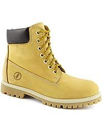 CAFèNOIR , Chaussures de ville à lacets pour homme Jaune Giallo