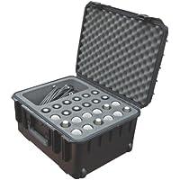 SKB iSeries - Maleta resistente al agua para 24 micrófonos