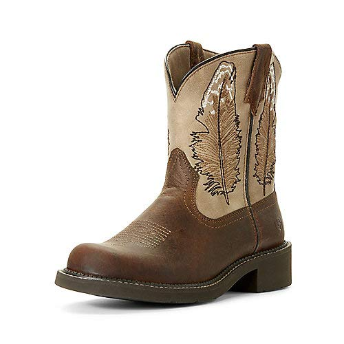 ARIAT Women's Fatbaby Heritage Feather Western Boot -