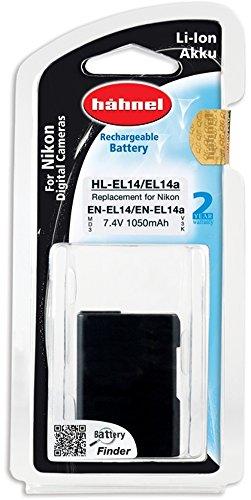 Hähnel HL EL14a 7,4V 1050mAh Li-Ion Ersatzakku Typ Nikon EN-EL14a für D3100/D3200/D3300/D5100/D5200/D5300/P7000/P7100/P7700/P7800