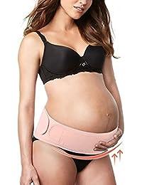 Cinturón de embarazo, apoyo abdominal y lumbar para mujeres embarazadas, elástico, ...
