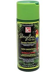 Fantasia Traitement à l'huile Brazilian Hair Oil - Répare instantanément les cheveux secs, endommagés et frisotants