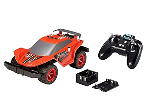 Revell Control X-treme RC Car - schnelles, sehr robustes ferngesteuertes Auto als Racer mit 2,4 GHz Fernsteuerung, Batterienbetrieben - Akku kann nachgerüstet werden - X-SPEEDER