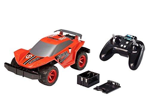 Revell Control X-treme RC Car - schnelles, sehr robustes ferngesteuertes Auto als Racer mit 2,4 GHz Fernsteuerung, Batterienbetrieben - Akku kann nachgerüstet werden - X-SPEEDER - Motoren Gas-rc-car