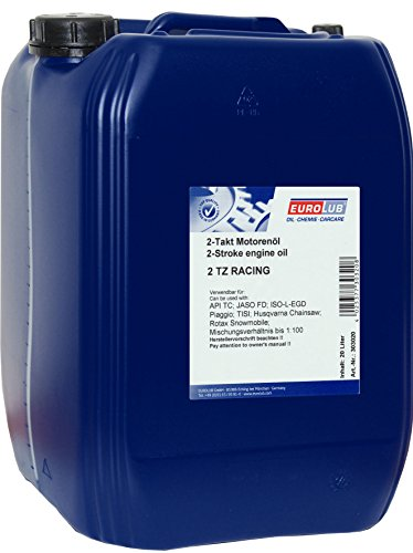 Eurolub 2 TZ RACING 2-Takt-Motoröl, 20 Liter