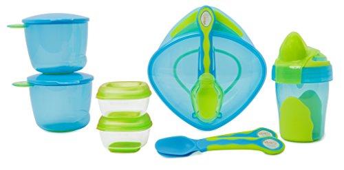 Vital Baby 8 piece Start Weaning Kit – BLUE 41Gle30ndHL