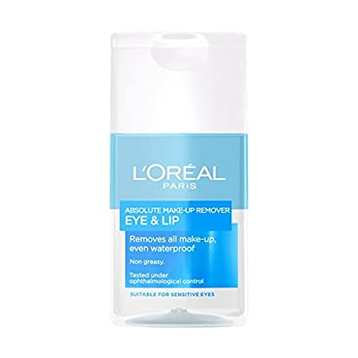 L'Oreal Paris Absolute Make-Up Remover Eye & Lip 125ml from L'Oreal