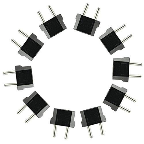 Ladegerät konverter Adapter,Janly US / AU in EU Konverter AC Power Plug Reiseadapter Sync-ladegerät-adapter