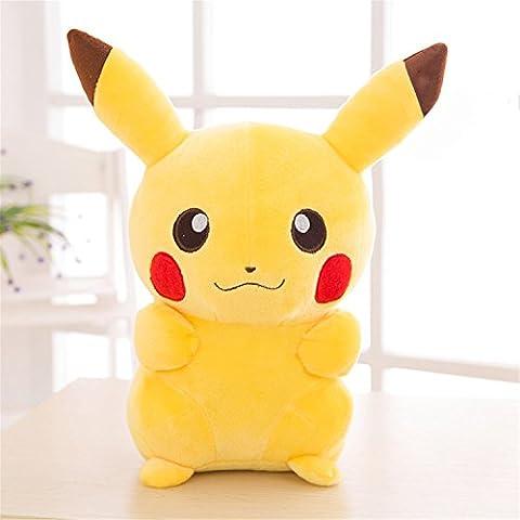 JPtuotu Plüsch Weiche Pokemon Pikachu Plush Doll Spielzeug 12 Zoll, 14 Zoll, 16 Zoll (35cm(14 Zoll))