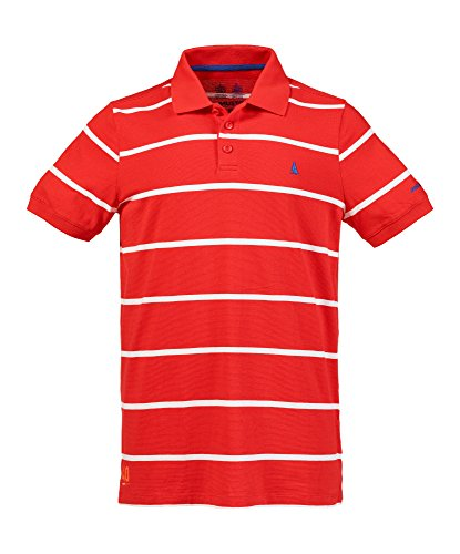Musto Air UV Fast Dry Short Sleeves Michael Polo - Fiery Red XL