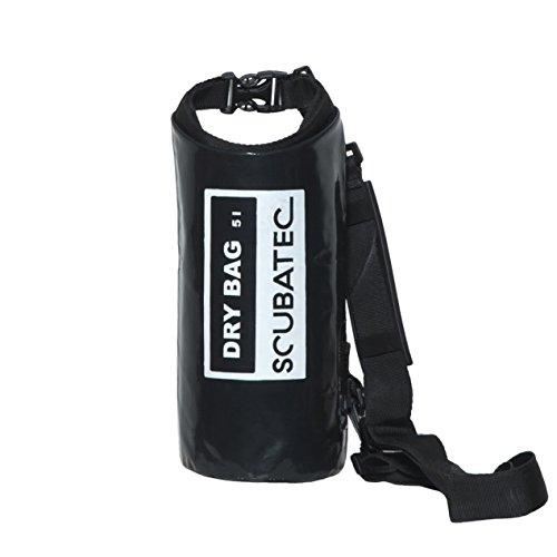 Preisvergleich Produktbild SCUBATEC Dry Bag wasserdichter Packbeutel,  5l,  schwarz