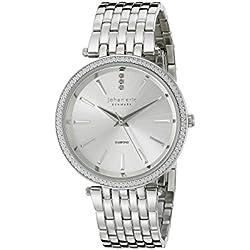 Johan Eric Women's JE-F1000-04-001B Fredericia Analog Display Quartz Silver Watch