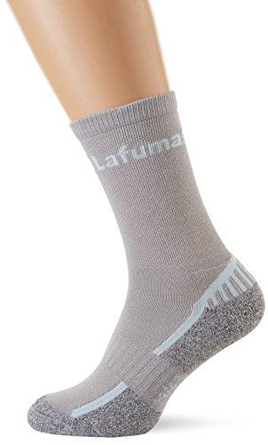 Lafuma - Laftrack Long Chaussettes hautes de randonnée - Mixte Adulte - Gris - FR : 39-42 (Taille Fabricant : 39-42)